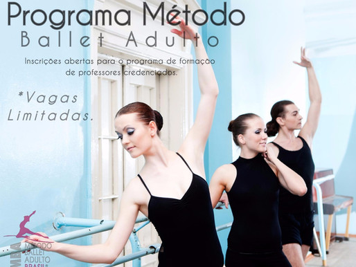 Programa ballet adulto para professores