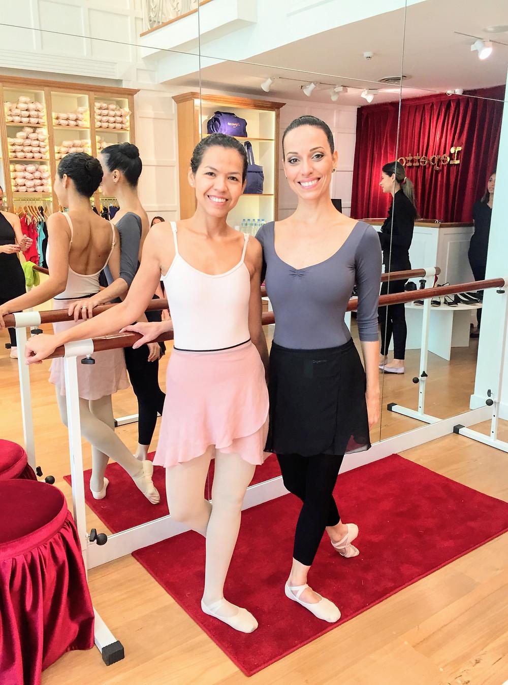 Eu, Bailarina e Claudia Mota
