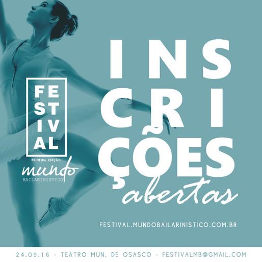 Primeiro festival do Mundo Bailarinístico