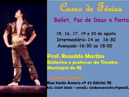 Curso de férias no Sin Dança & Artes