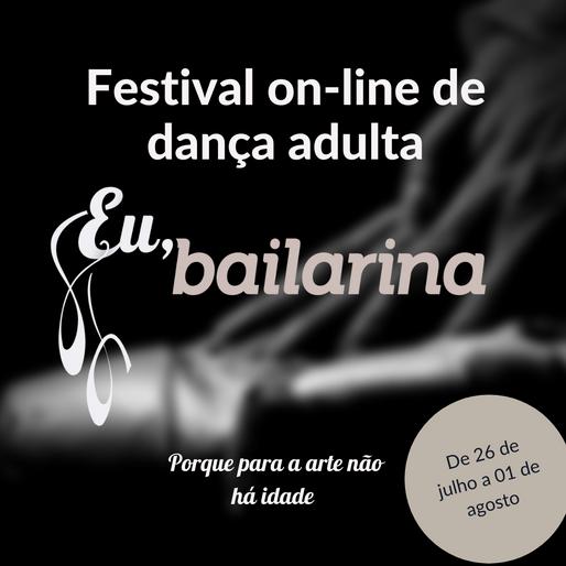 1º Festival de dança adulta EuBailarina