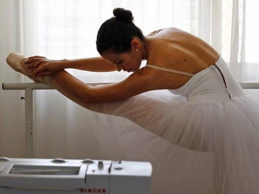 Eu, Bailarina no jornal O Globo