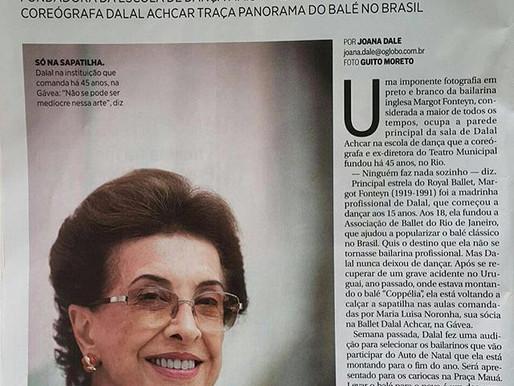 Dalal Achcar fala sobre ballet no Globo