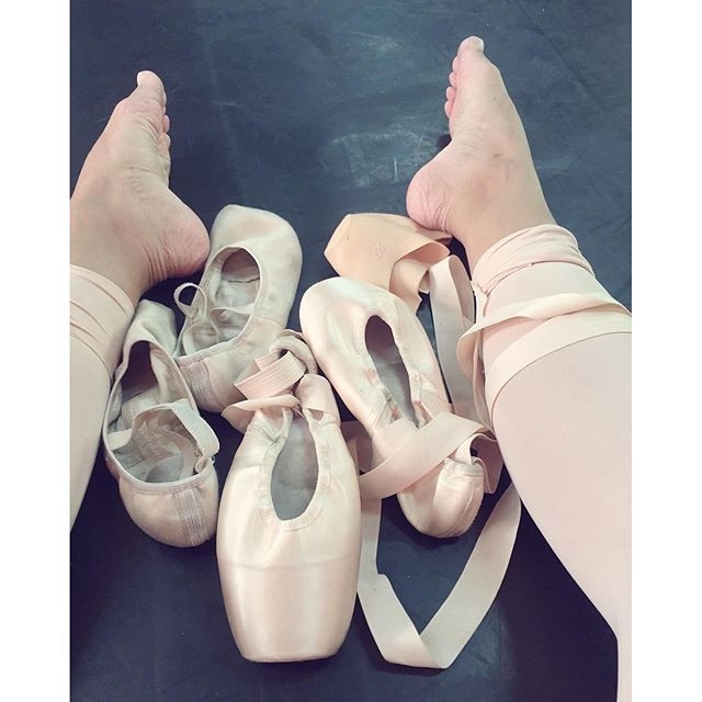 pé de bailarina