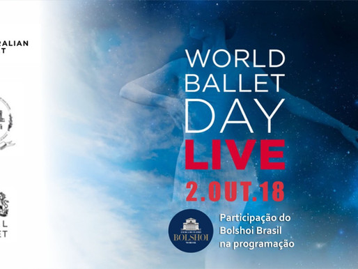 Bolshoi Brasil no World Ballet Day