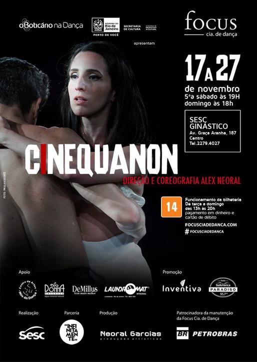 CINEQUANON - Novo espetáculo da Focus Cia de Dança