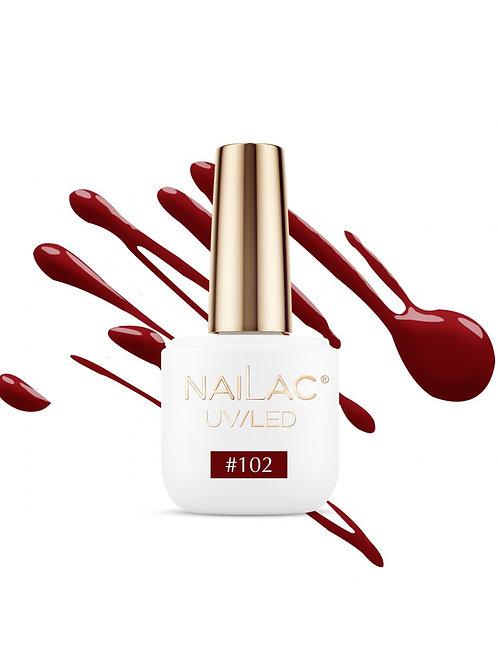 # 102 Vernis à ongles hybride NaiLac 7ml