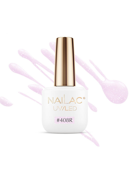 #408R Rubber nail polish NaiLac 7ml