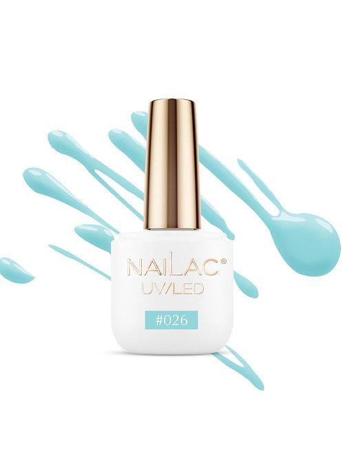 # 026 Vernis à ongles hybride NaiLac 7ml