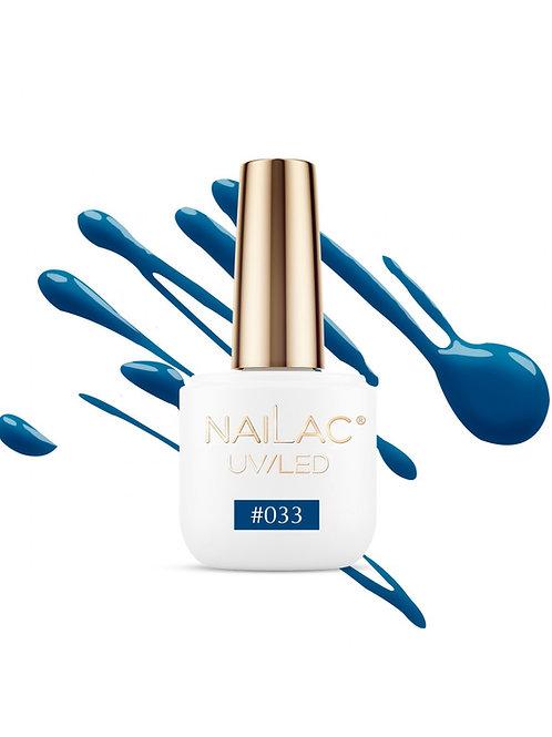 # 033 Vernis à ongles hybride NaiLac 7ml