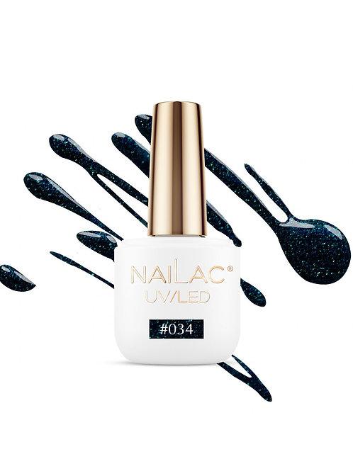 # 034 Vernis à ongles hybride NaiLac 7ml