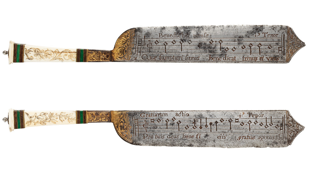 Notation knife - - very cool.