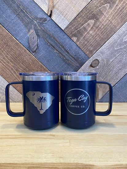 South Carolina Palmetto insulated coffee mug