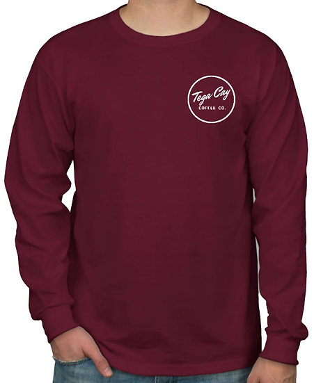 Long Sleeve Maroon Shirt