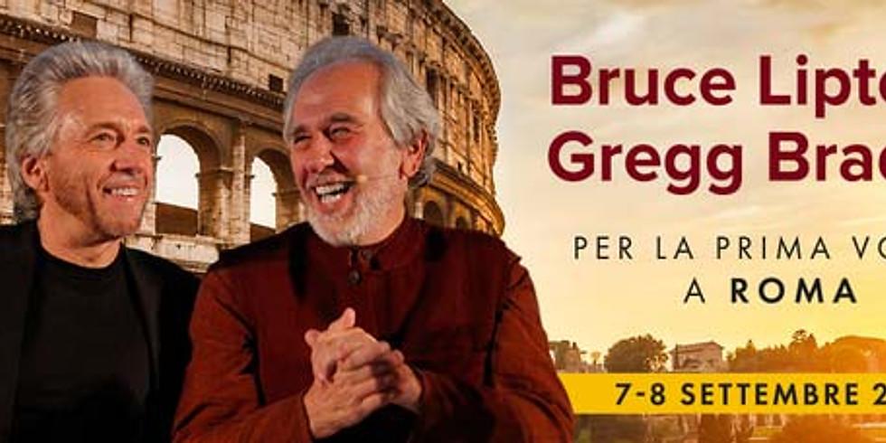 [ partner ] BRUCE LIPTON e GREGG BRADEN | Roma