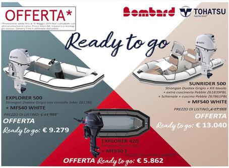 Ready to go – Offerta Package Bombard e Tohatsu