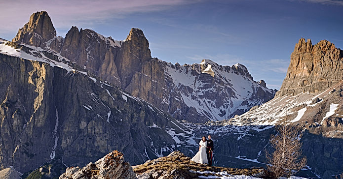 Sfondo manifesto Wedding in Cortina