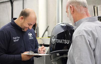Centro assistenza fuoribordo Tohatsu