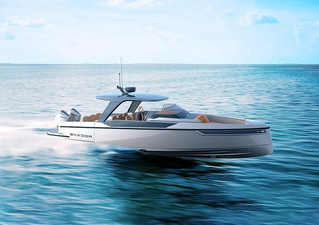 mini yacht lusso Saxdor 320 GTO