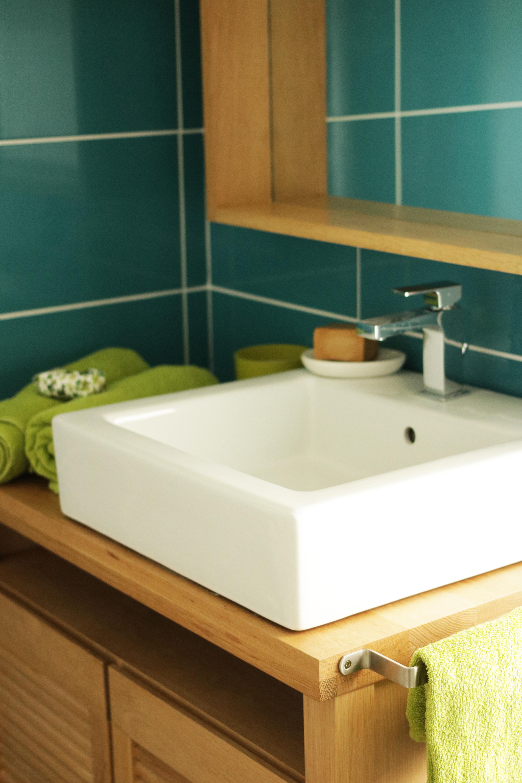 salle de bain - carrelage couleurs
