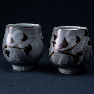 Two Porcelain Yunomi