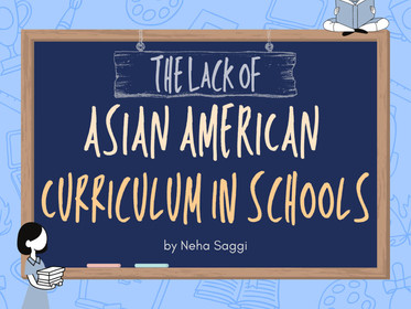 The Lack of Asian American Curriculum in Schools