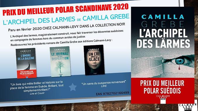 Prix du meilleur polar scandinave 2020 P
