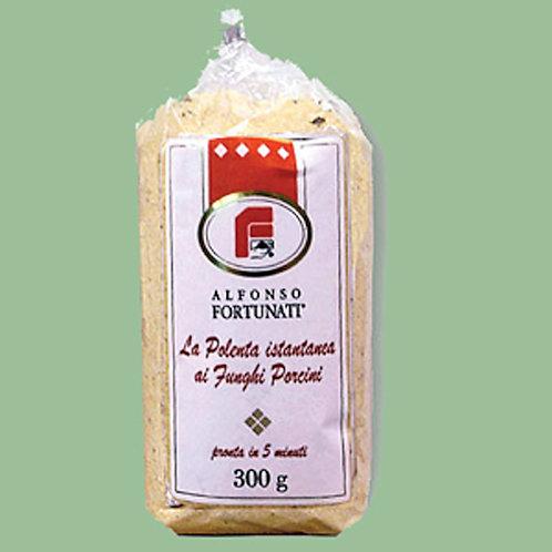 Polenta with Mushroom