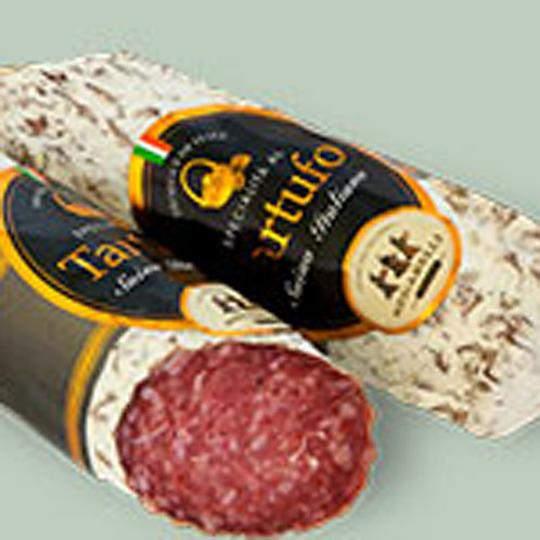 Salami with Black Truffle