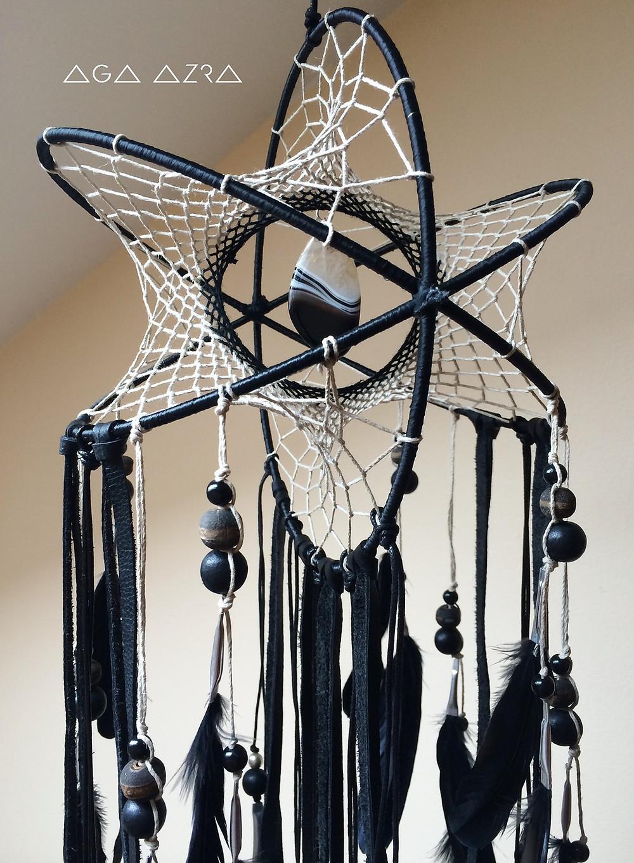 Black Agate - Nebula Atom DreamCatcher