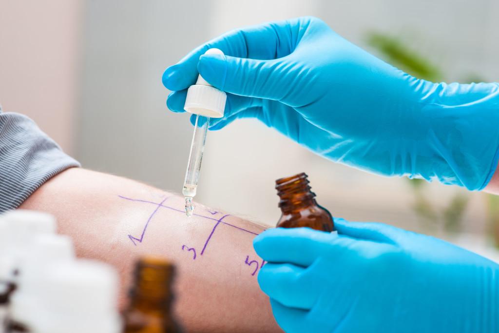 Allergietest (Pricktest)
