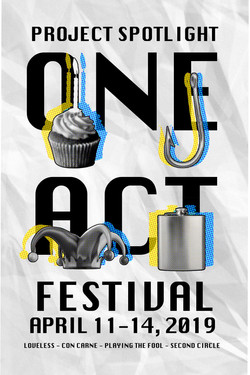 One Act Festival Poster