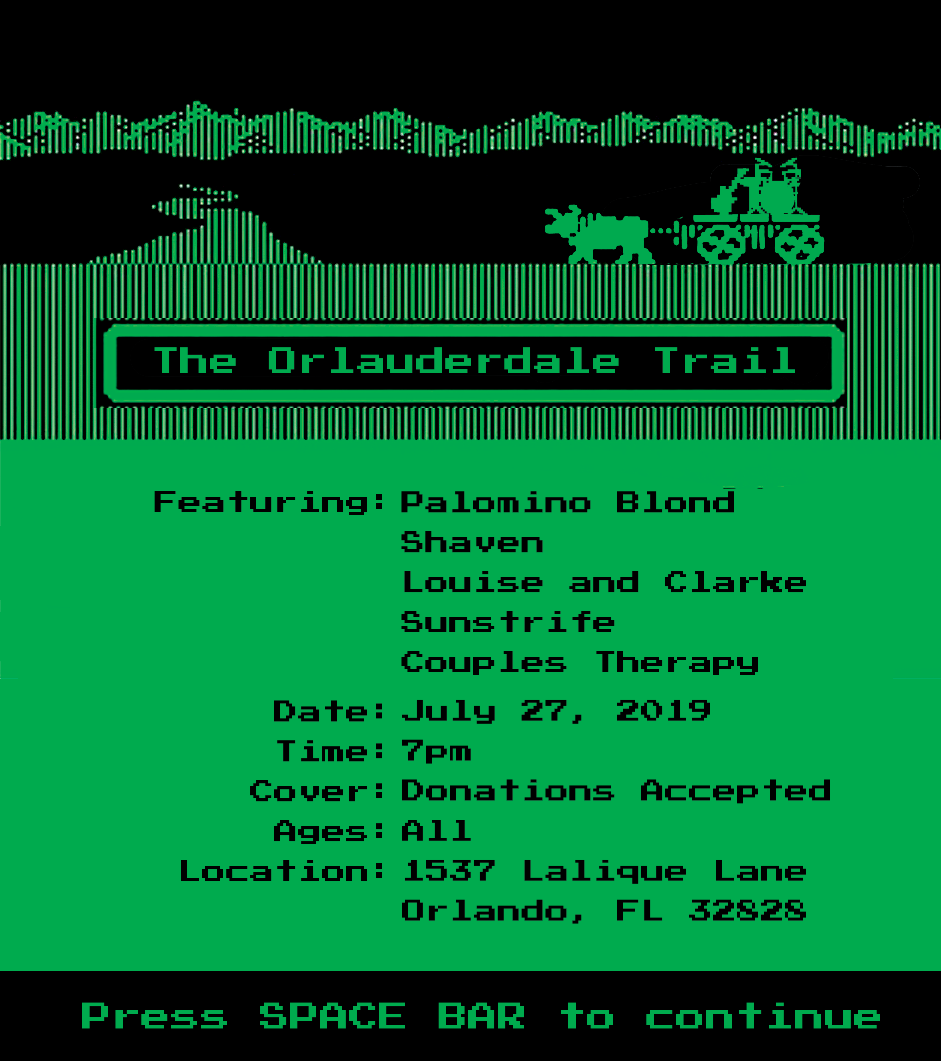 Orlauderdale Trail Poster
