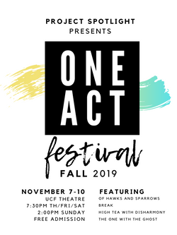 One Act Poster