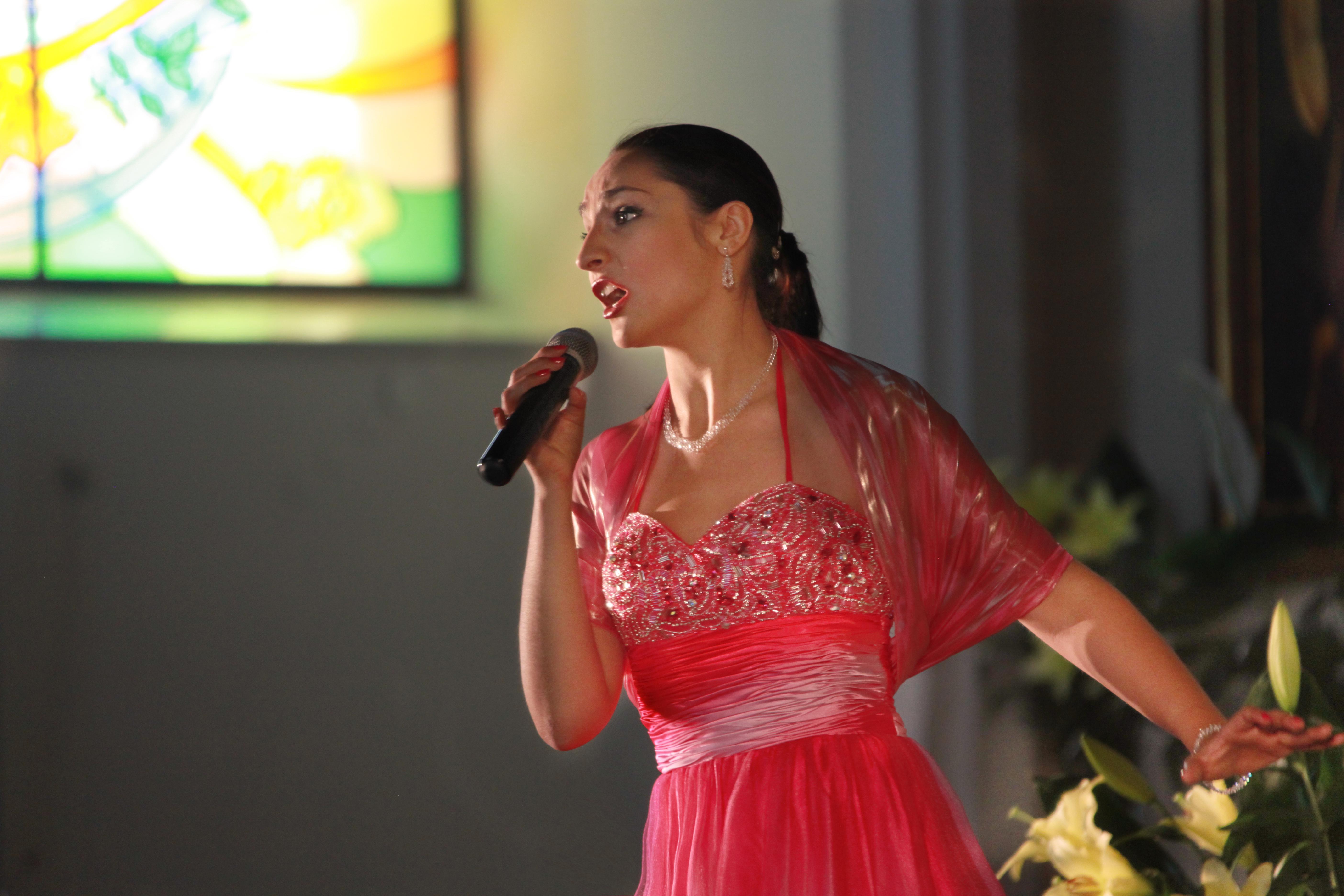 koncert - solistka