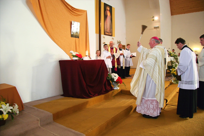 Przekazanie relikwii św. Faustyny