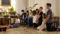 Modlitwa przed Światowymi Dniami Młodzieży w 2016r.