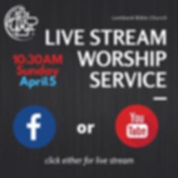 Copy of Copy of Live stream LBC Worship