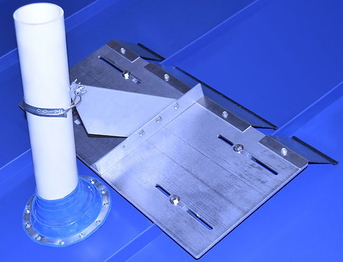 VentSaver EZ with standing seam mounting plate