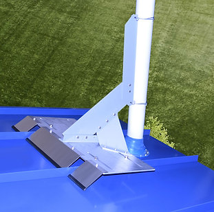VentSaver HD with Standing Seam Mounting Plate and Height Extender