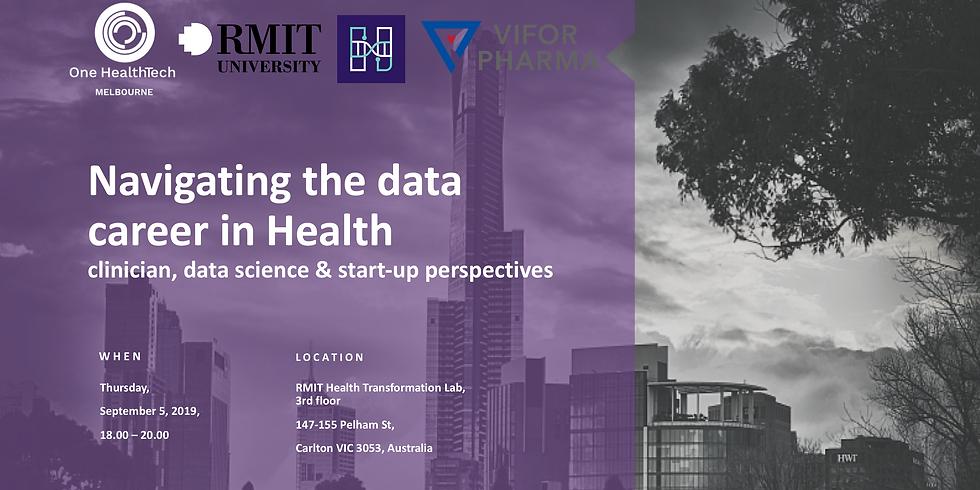 Navigating the Data Career in Health (Melbourne)