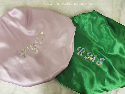 Satin Lined Bonnets