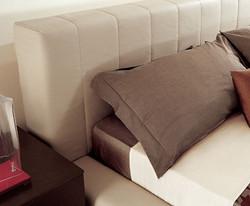 Кровать с высоким изголовьем Nicole