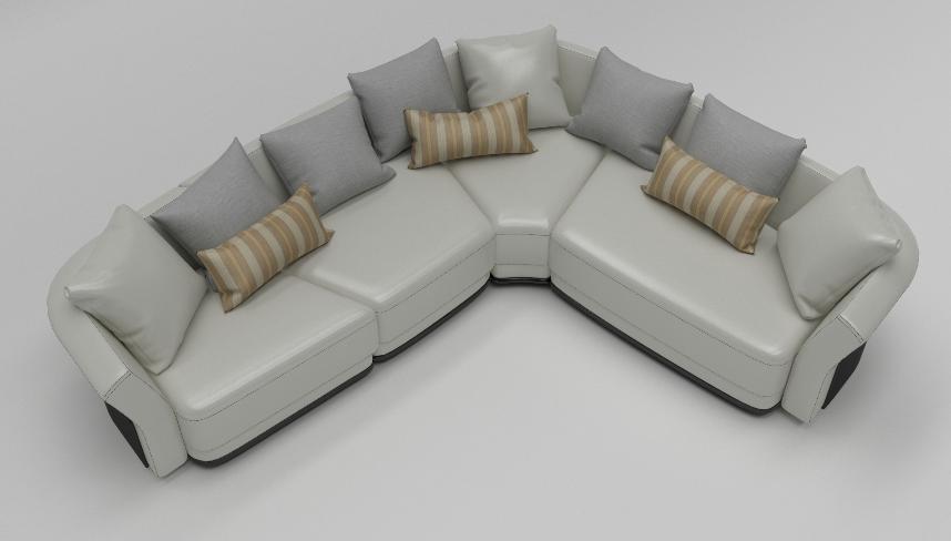 Угловой диван NUVOLA в LUXURYSOFAS
