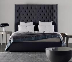 Кровать с высоким изголовьем MULHOUS