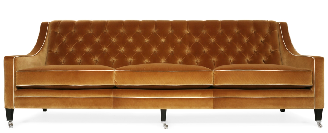 Прямой диван RENOIR в LUXURYSOFAS