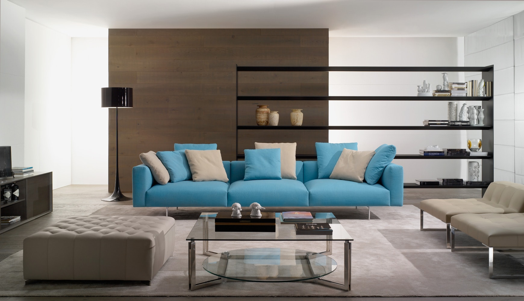 Прямой диван GUSTAV в LUXURYSOFAS