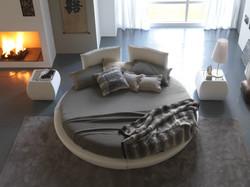 Круглая кровать Miami