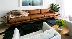 Прямой диван BARNES в LUXURYSOFAS