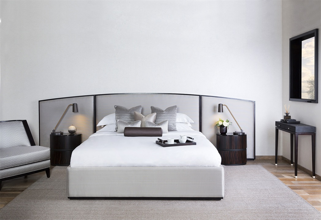 Кровать с изголовьем WESTBOURNE